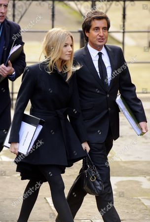 Sienna Miller and lawyer David Sherborne