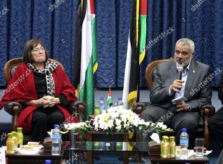 Editorial photo of International delegation calls for end of Israeli siege and blockade of Gaza City, Gaza Strip, Palestine - 23 Nov 2011