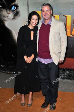 Stock Photo of Latifa Ouaou and Chris Miller