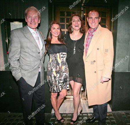 Peter Jones, Tanya Jones and Vinnie Jones