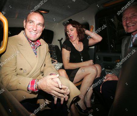 Vinnie Jones, Tanya Jones and Peter Jones