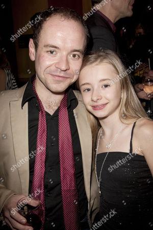 Peter Howe (Michael) and Kerry Ingram (Matilda)