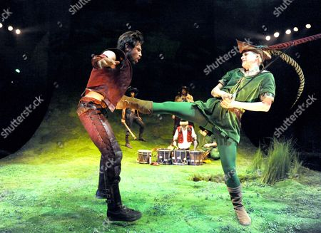 James McArdle as Robin and Iris Roberts as Marion