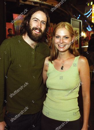 Stock Photo of Jason Lee and Carmen Llywelyn
