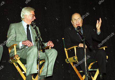 Stock Picture of Robert Mulligan and Robert Duvall
