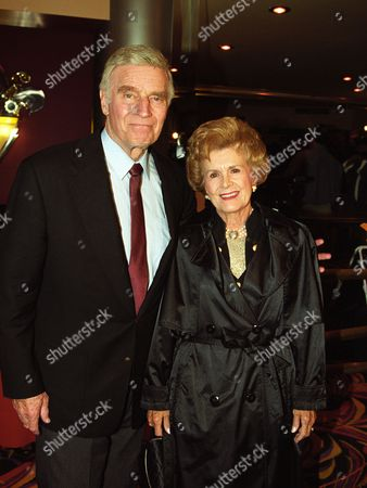 Charlton Heston and Lydia Heston