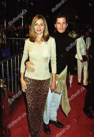 Stock Photo of Vanessa Angel and Rick Otto