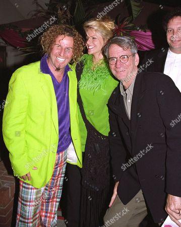 Sammy Hagar, wife Kari Hagar and Sid Sheinberg