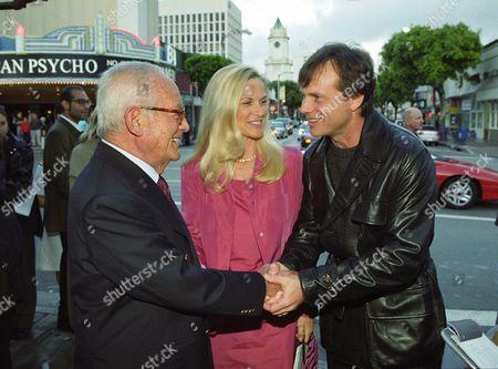Dino Delaurentiis, Martha Schumacher and Bill Paxton