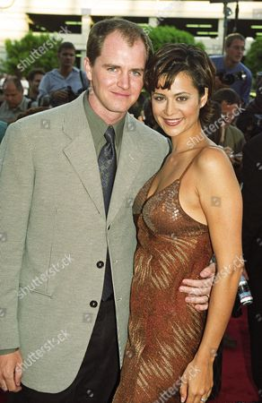 Catherine Bell and Adam Beason
