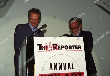 Clint Eastwood and Bill Gold