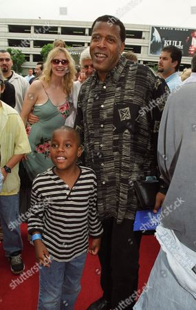 Stock Picture of Meshach Taylor and son Tariq