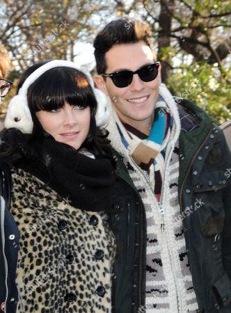 Victoria Asher and Gabe Saporta of Cobra Starship