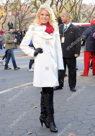 Stock Image of Miss USA 2011 Teresa Scanlan
