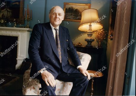 Ian Mccorquodale (son Of Barbara Cartland) In His Whitehall Apartment