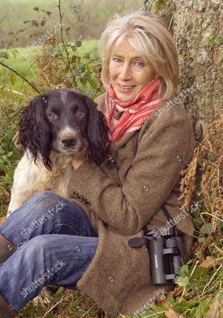 Lady Jane Rice with her dog Fox