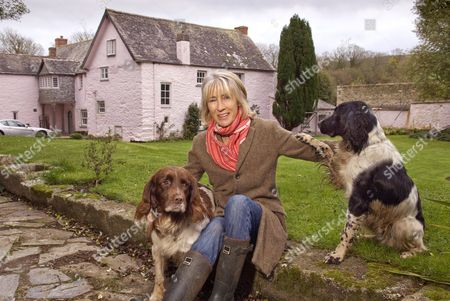 Editorial image of Lady Jane Rice at home in Helston, Cornwall, Britain - 24 Nov 2011