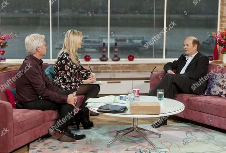 Phillip Schofield and Holly Willoughby with Christopher Jefferies