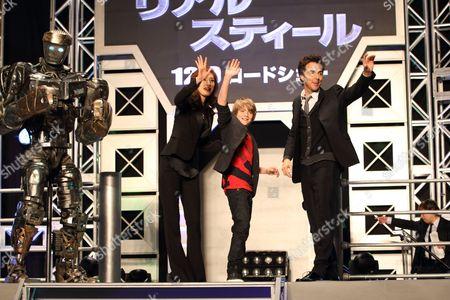 Editorial image of 'Real Steel' Film Premiere, Tokyo, Japan - 29 Nov 2011