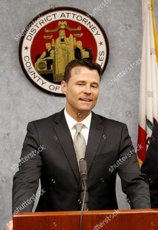 Editorial photo of Dr. Conrad Murray sentencing, Los Angeles, America - 29 Nov 2011