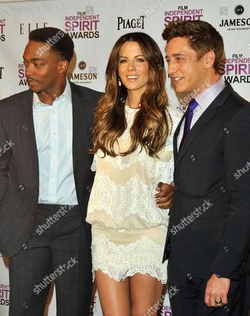 Anthony Mackie ; Kate Beckinsale and Sean McManus