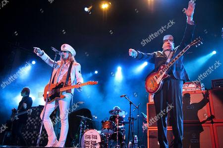 Editorial photo of Cheap Trick in concert at Birmingham NEC, Britain - 27 Nov 2011