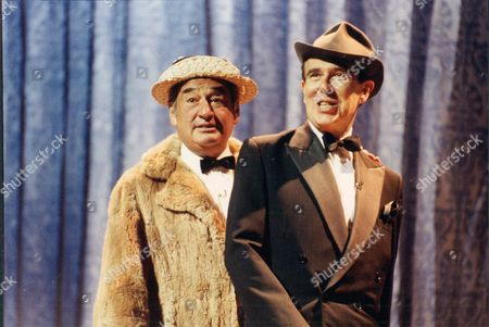 Bernie Winters And Leslie Crowther As Flanagan And Allen At The 90th Birthday Tribute To The Queen Mother