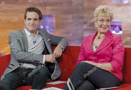 Steve Hargrave and Christine Hamilton