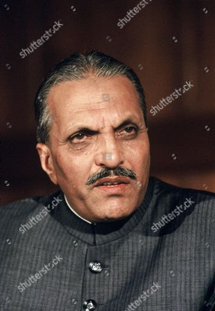 Stock Picture of Pakistani President General Muhammad Zia-ul-Haq
