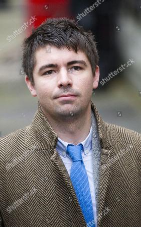 Stock Photo of Richard Peppiatt, former Daily Star journalist