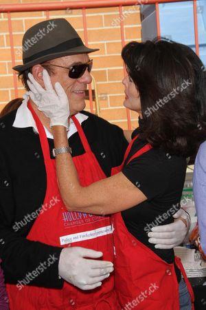Stock Photo of Robert Davi and Joan Severence