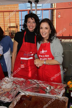 Stock Picture of Joan Severence and Stepfanie Kramer