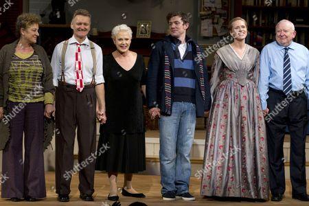 Jane Bertish (Celia/Mother), Neil McCaul (Eddie/Robert/John), Sharon Gless (Jane Juska), Michael Thomson (Graham/Andy), Beth Cordingly (Nathalie/Miss Mackenzie) and Barry McCarty (Johan/Sidney)