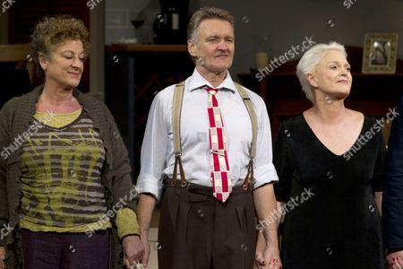 Jane Bertish (Celia/Mother), Neil McCaul (Eddie/Robert/John) and Sharon Gless (Jane Juska)