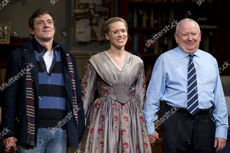 Michael Thomson (Graham/Andy), Beth Cordingly (Nathalie/Miss Mackenzie) and Barry McCarty (Johan/Sidney)