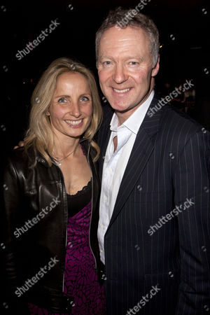 Tessa Campbell Fraser and Rory Bremner