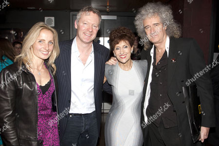 Tessa Campbell Fraser, Rory Bremner, Anita Dobson and Brian May
