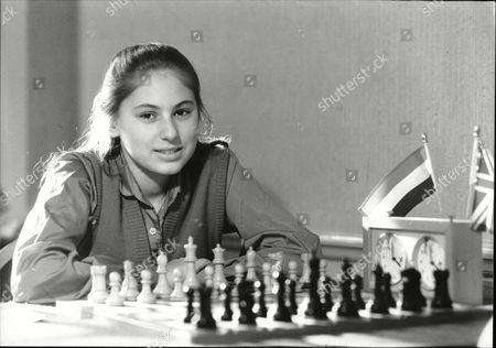 Judit Polgar 12 Year Old Hungarian Chess Champion 1988.