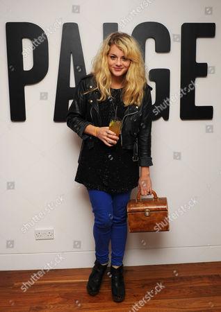 Editorial image of Paige Penthouse Party, London, Britain - 01 Dec 2011