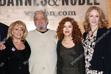 Elaine Paige, Stephen Sondheim, Bernadette Peters and Jan Maxwell