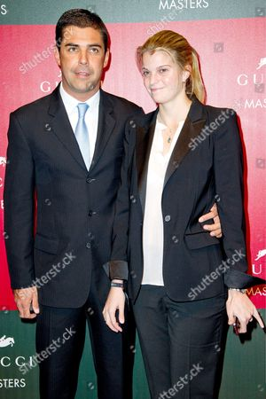 Stock Photo of Alvaro Alfonso De Miranda Neto Neto and Athina Onassis
