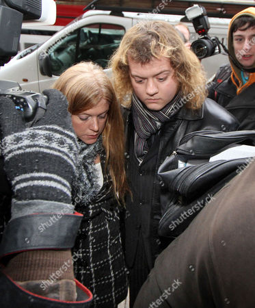 Edward Woollard 18 From Southampton A Student Who Dropped A Fire Extinguisher From The Roof Of Tory Hq Millbank Tower During The Student Protests Arrives At Horseferry Road Magistrate Courts .