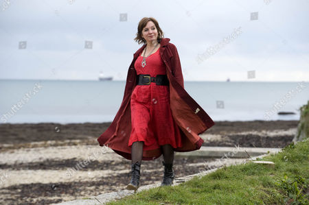 Editorial picture of Kathy Clark In Falmouth Cornwall. Femail Special On Kathy Clark Kathy Is The Lovechild Of The Late David Budworth Who Is The Husband Of Lady Magazine Owner Julia Budworth.