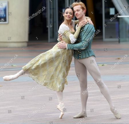 The World's Most Famous Royal Ballet Will Perform At The O2 Arena In July 2011 . Principal Dancers From The Royal Ballet Roberta Marquez And Steven Mc Rae .