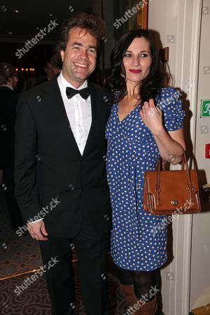 Es Theatre Awards At The Savoy London Robert Gould With Kate Fleetwood