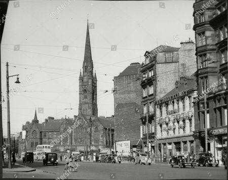 Newcastle-upon Tyne Northumberland Uk. Roman Catholic Cathedral Of St Mary Clayton Street West.
