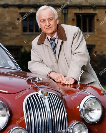 Stock Picture of John Thaw as Inspector Morse. Retro 2000.