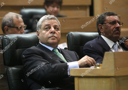 Stock Image of Jordanian Prime Minister Awn Shawkat Al-Khasawneh