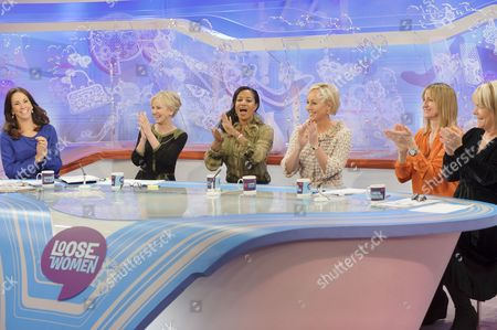 Andrea McLean, Lisa Maxwell, Pepsi and Shirlie - Helen DeMacque and Shirlie Holliman, Carol McGiffin and Linda Robson