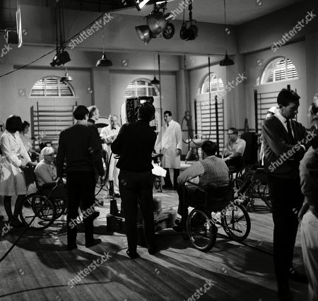 Behind the scenes. Eric Portman